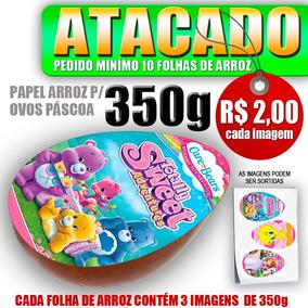 10 - Papel Arroz Ovo Páscoa Colher-350g R$ 2,00 Cada Imagem