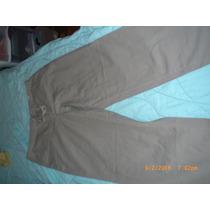 Pantalones Informales Dama, 100x C Algodon, Talla 12