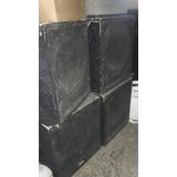 4 Cajas Bafles Graves Frontales 18 600w Selenium Jahro