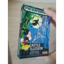 Mini Caixa Para Cartuchos De Mega Drive