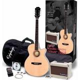 Epiphone De Gibson Pr-4e Jugador 43 Cutaway Guitarra Acústi