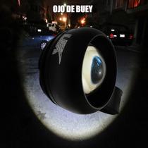 Luz Para Bicicleta Led Megapotente, Ojo De Buey, Recargable