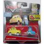 Autos Cars Disney Mattel. Luigi Y Guido! De Colección !