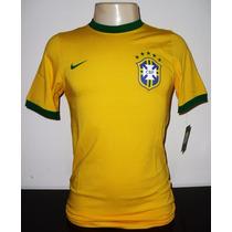Camisa Seleção Brasileira De Futebol Nike Brasil M E P