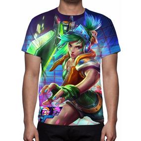 Camisa, Camiseta League Of Legends - Riven Fliperama