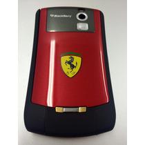 Carcasa Blackberry 8350 Edicion Ferrari Roja Nextel Iden