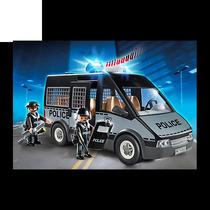 Playmobil Camioneta Van Especial De Policía 6043 Giro Didáct