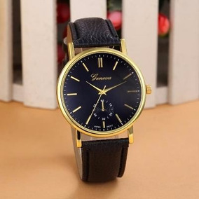 Relógio Feminino Geneva Pulseira De Couro Luxo Barato