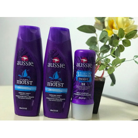 Kit Aussie Shampoo + Shampoo + 3 Minute Miracle Moist
