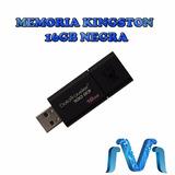Memoria Kingston 16gb Usb 3.0 Datatraveler 100 G3 Negro