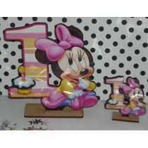 20 Souvenirs + Central Minnie Bebe Mi Primer Añito