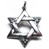 Lfg-pingente Estrela De Davi Prata 925