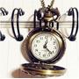 Relógio Analógico De Bolso Bonito E Barato