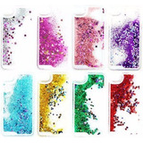 Funda Agua Brillos Glitter Iphone 4 5s 5c 6 6s 7 Plus