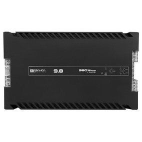 Modulo Banda 9.8 Voxer 980w Rms Amplificador 4 Canais 2 Ohm