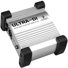 Direct Box Ativo Behringer Ultra Di100 Garantia 2 Anos