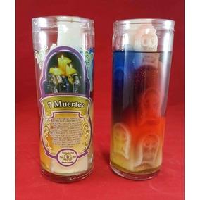 Veladoras Esotericas Aromaticas De Gel (santa Muerte)