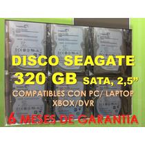 Disco Duro 320 Gb Sata 2.5 - Pc Y Laptops Nuevos En Tienda