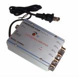 Amplificador De Señal Catv 4 Vias Tv Cable Mágico