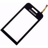 Tela Vidro Touch Celular Samsung Star Gt-s5230 Preto E Branc