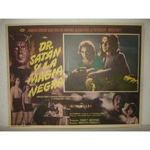 Joaquin Cordero, Dr. Satan Y La Magia Negra, Cartel De Cine