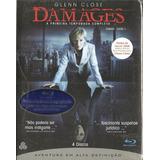 Blu-ray Damages - 1 Temporada ( Box 4 Discos) Glenn Close