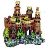 Adorno Para Acuario Exótico Entornos Castillo Medieval Del