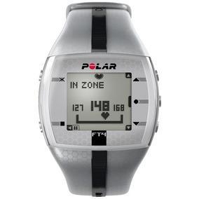 Reloj Fitness Con Frecuencia Cardiaca Polar Ft4 Plata