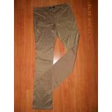 Pantalon Tela Tipo Cuero De Dama Importado.talla 30