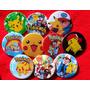 40 Pines Prendedores Pokémon -pikachu - 55mm.- Souvenirs