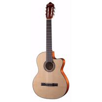Guitarra Electroacustica Crafter Con Afinador Hce-250