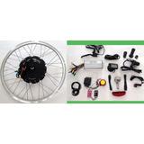 Kit Conversão Bike Elétrica 1000w 48v Diant. Lcd Wind Bikes
