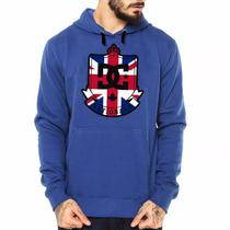 Blusa Moleton Marca Famosa De Skate Algodão Customizada