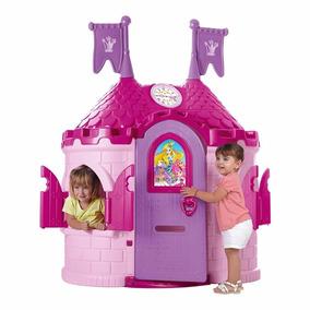 casita nias castillo infantil con sonidos exterior interior