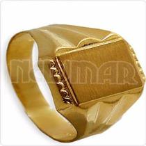 Anillo Sello Grabar Rolex 3.3 Grs Alianza Oro 18 Kts. Se4027