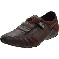 Zapatos Hombre Puma Vedano Leather Slipon Shoe,coffee/ 42