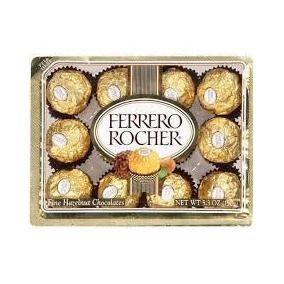 Chocolate Ferrero Rocher C/12 - Ferrero