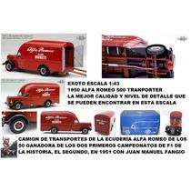 Exoto 1:43 Camion Alfa Romeo Formula 1 Fangio Envio Gratis