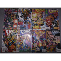 Lote Cable Marvel Comics 8 Nros Satinado - Arjoes Store
