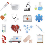 Adesivos Destacáveis Decorativos Tema Enfermagem