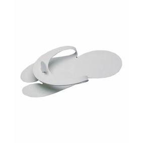 Chinelo Descartável Eva Branco 4mm- Apenas R$ 1,15 O Par