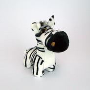 Zebra De Pelúcia Zoião - Bichinho Safari