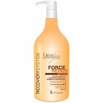 Forever Liss Shampoo Reparador Force Repair - 1 Litro
