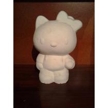 Recuerdos, Centros De Mesa Hello Kitty Alcancias Paq. 50 Pza