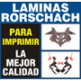Laminas Test De Rorschach Para Imprimir La Mejor Calidad