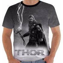 Camiseta Thor 6 Super Herói Vingadores Avengers Marvel Pb