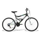 Bicicleta Aro 26 Ks C/quadro/garfo De Amort 21v Pto - Caloi