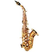 Sax Soprano Curvo Sib Laqueado Jahnke Jssch001-lq