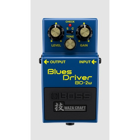 Pedal Para Guitarra Blues Driver Bd-2w Boss Waza Craft