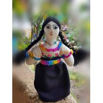 Muñecas De Trapo Mexicanas Artesanal 100% Hechas A Mano!!!